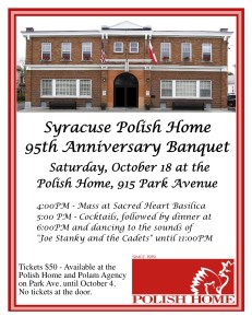 See The Syracuse Polish Home Web Page Arrow Picture Banquet