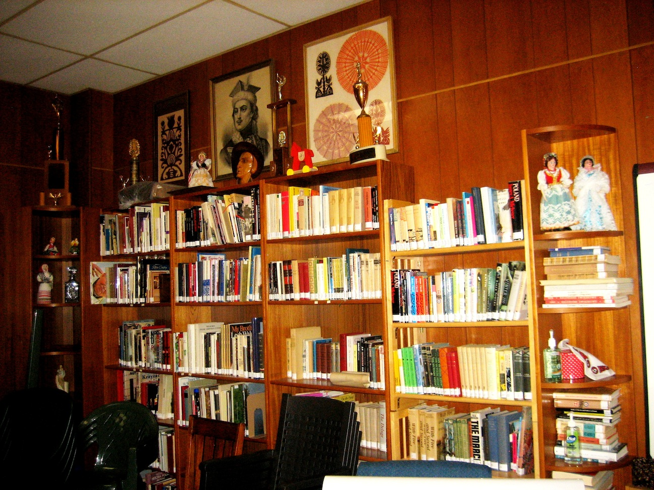 Well Stocked Library Of The Syracuse Polish Home