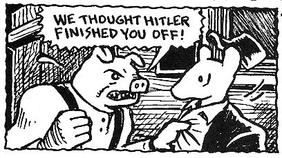 Brutal pig why are you doing that brutales schwein wieso machst du das